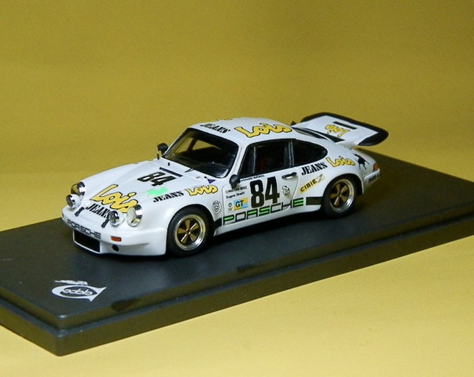 Porsche 911 Carrera RS Gr.3 Lois Le Mans 1975 #84 Maurer/Beez/Straehl Remember 1:43 Factory built