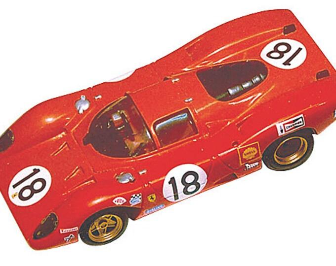 Ferrari 312 P Coupé 24h Le Mans 1969 #18/19 Tameo Kits TMK030 1:43