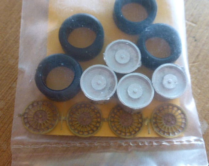 high definition wheel set for WRC Cars such as Clio Williams, Peugeot 206, Lancia Delta Integrale etc. Racing43 RA54 1:43