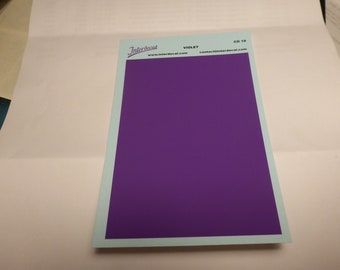 high quality 1:43 decal sheet mm95x140 VIOLET Tin Wizard CO19