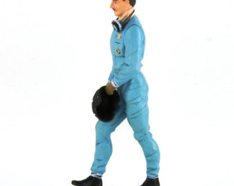 Graham Hill handpainted resin figure for slot cars systems Le Mans Miniatures 1:32 FLM132060M