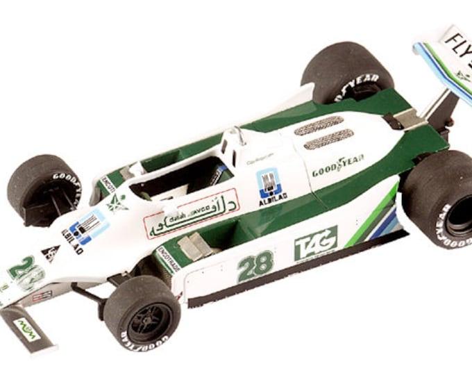 Williams Ford Cosworth FW07 F.1 British GP 1979 Jones or Regazzoni TAMEO Kits TMK304 1:43