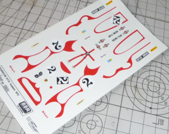 high quality 1:43 decals Porsche 917 K Martini 9h Kyalami 1970 #2 Remember TK07