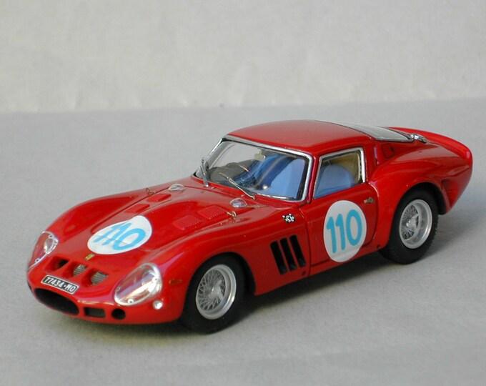 Ferrari 250 GTO 3647GT Targa Florio 1963 #110 Hitchcock/Tchkcotoua Remember Models kit 1:43