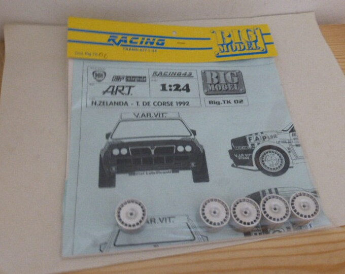 1:24 transkit for Lancia Delta Integrale EVO ART Team N.Zealand or Tour de Corse 1992 (decals+wheels) RACING43 Big-TK02