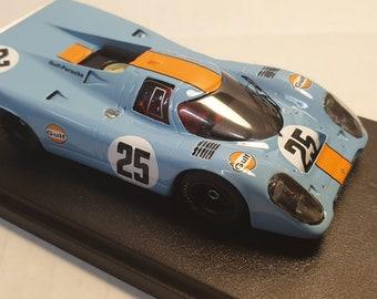 Porsche 917K Gulf-John Wyer 1000km Spa 1970 #25 Rodriguez/Kinnunen Fast by Ciemme43 1:43 factory built