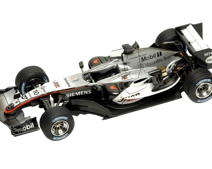 Mc Laren - Mercedes MP4/20 Formula 1 Monza Italian Grand Prix 2005 TAMEO Kits SLK028 1:43