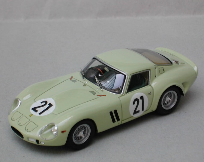 Ferrari 250 GTO 3505GT Le Mans 1962 trials #21 Willy Mairesse Remember Models kit 1:43
