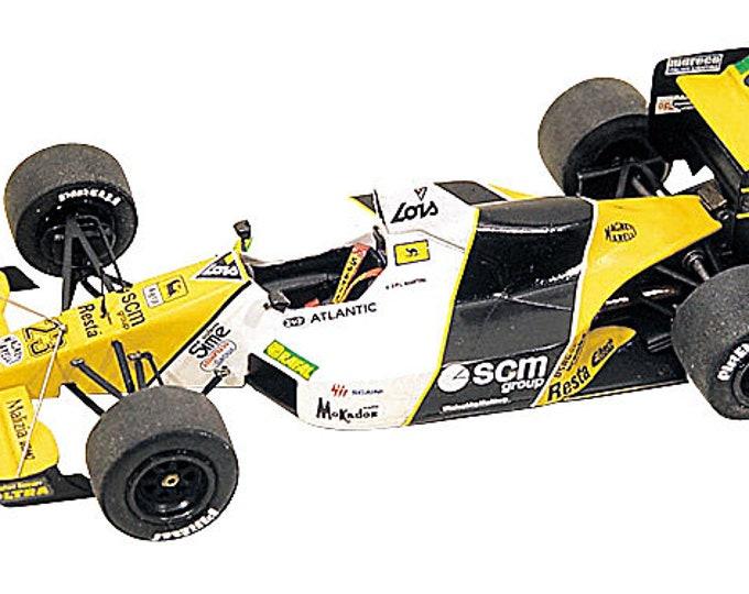 Minardi Cosworth M189 F.1 British GP 1989 Perez Sala or Martini Tameo Kits TMK104 1:43