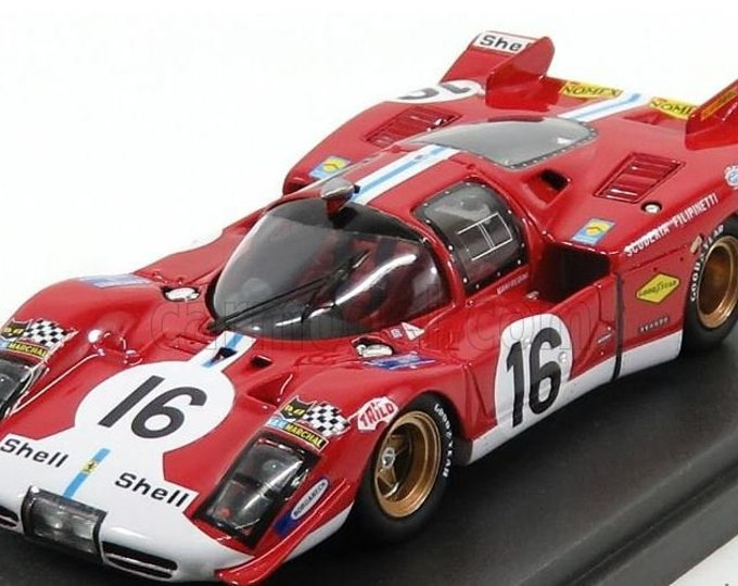 Ferrari 512S Scuderia Filipinetti Le Mans 1970 #16 Manfredini/Moretti Madyero by Remember 1:43 KIT