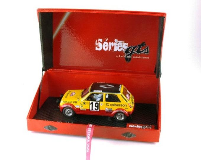 Renault 5 Alpine Gr.2 Rally Monte Carlo 1978 #19 Ragnotti/Andrié GTS Série Le Mans Miniatures slot car 1:32 GTS132003/19M