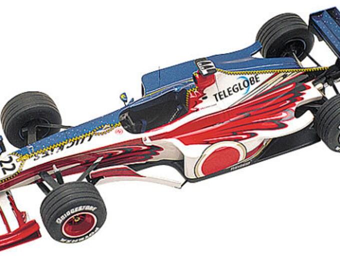 BAR Supertec 01 F.1 Monaco GP 1999 Jacques Villeneuve or Mika Salo TAMEO Kits TMK284 1:43