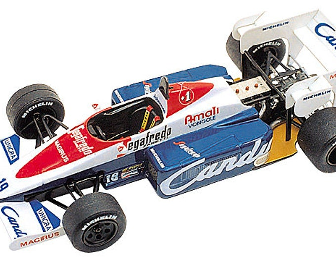 Toleman Hart TG184 F.1 Italian Grand Prix 1984 Senna or Cecotto TAMEO Kits TMK228 1:43