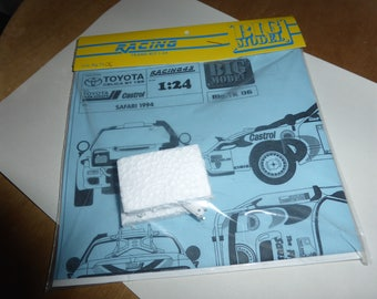 1:24 transkit for Toyota Celica ST185 TTE-Castrol Rally Safari 1994 (decals+meta parts) RACING43 Big-TK06