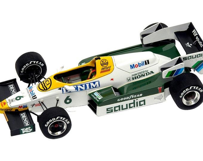 Williams Honda FW09 Formula 1 Dallas GP 1984 Rosberg or Laffite TAMEO Kits SLK032 1:43