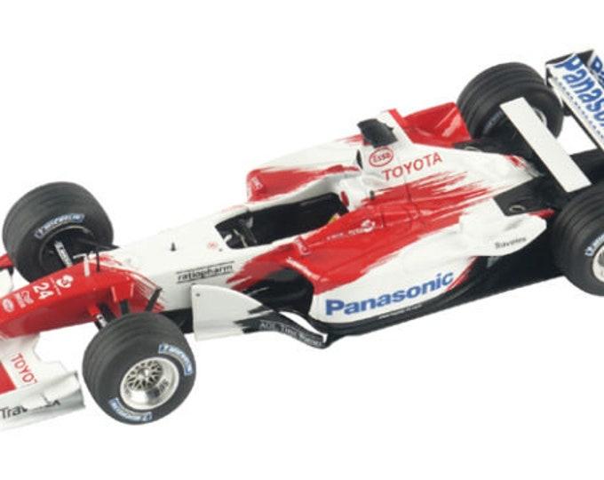 Toyota TF12 Formula 1 Monaco GP 2012 Allan McNish or Takuma Sato TAMEO Kits TMK311 1:43