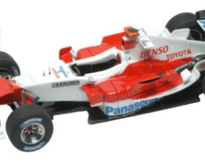Toyota TF105 Formula 1 Malaysian GP 2005 Jarno Trulli or Ralf Schumacher TAMEO Kits SLK020 1:43