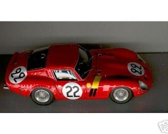 Ferrari 250 GTO Ecurie Francorchamps Le Mans 1962 #22 Dernier/Blaton Remember Models kit 1:43