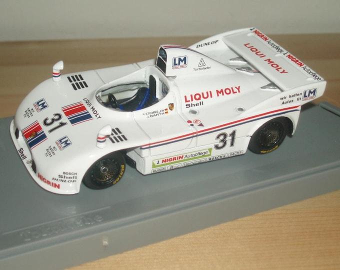 Porsche 908/3 Joest-Liqui Moly Nurburgring 1980 REMEMBER kit 1:43