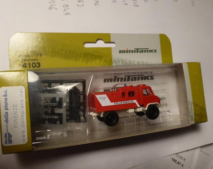 Unimog S TLF 8 Feuerwehr Minitanks 4103 1:87 H0