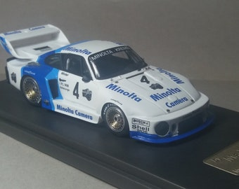 "Porsche 935 Gr.5 Minolta-Kremer DRM Bilstein Supersprint 1978 ""John Winter"" Madyero by Remember 1:43 Factory built"