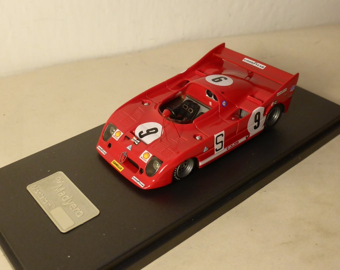 Alfa Romeo 33TT12 1000km Nurburgring 1973 #9 Regazzoni/Facetti Madyero by Remember 1:43 Factory built