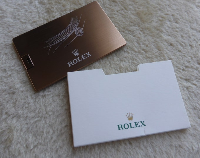 Rolex official USB key for customers, press and clients - Mint in original box and package
