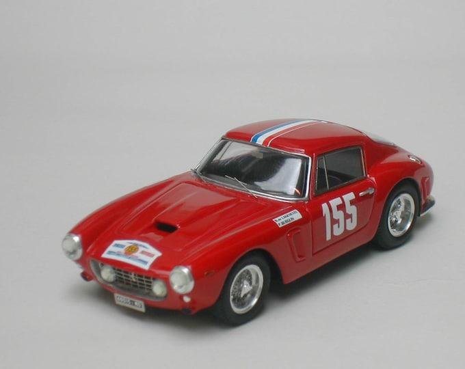Ferrari 250 GT SWB 2807GT Tour de France Auto 1962 #155 Delageneste/Burglin KIT Madyero 1:43