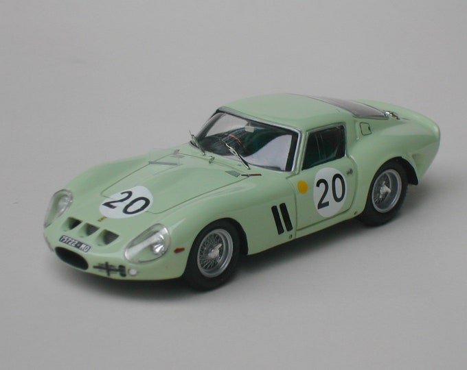 Ferrari 250 GTO 3505GT Le Mans 1962 #20 Ireland/Gregory Remember Models kit 1:43