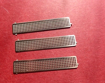 pack of 3 photoetched grilles for GT and racing cars 1:24 Gemini Modelcars 24PE05