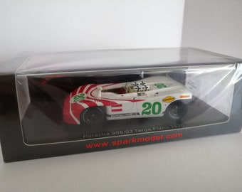 Porsche 908/03 Targa Florio 1970 #20 Elford/Herrmann Spark S4627 still sealed 1:43 SHIPPING OFFERED