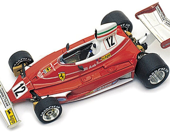 Ferrari 312T Formula 1 Monaco GP 1975 Lauda TAMEO Kits WCT-075 1:43