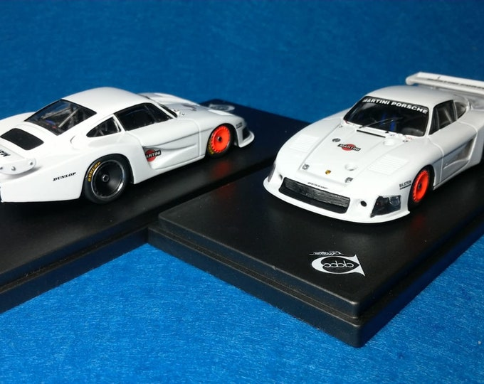 Porsche 935/78 Gr.5 Moby Dick Martini Paul Ricard 1978 tests Jacky Ickx REMEMBER Models 1:43 factory built