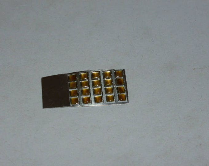 high quality photoetched+resin lights square yellow mm 2.5 FLQ2.5 for model cars and other models
