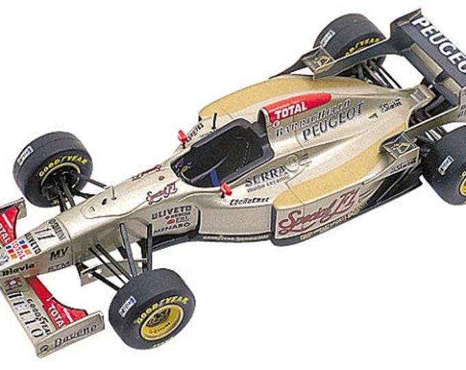 Jordan Peugeot 196 F.1 German Grand Prix 1996 Barrichello or Brundle TAMEO Kits TMK224 1:43
