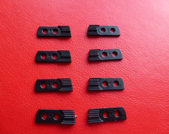 pack of 4 couples of 1:43 plastic front grilles for Alfa Romeo Alfetta and other cars of the 70/80s Progetto K [43PK02]