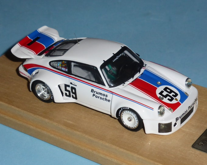 Porsche 911 Carrera RSR IMSA Brumos Daytona 24h 1975 #59 winner Gregg/Haywood Madyero by Remember 1:43 Factory special built