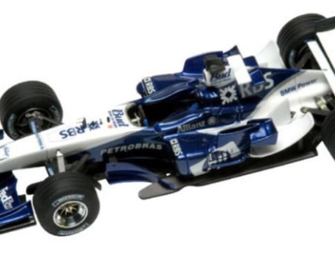 Williams - BMW FW27 Formula 1 Malaysian GP 2005 Webber or Heidfeld TAMEO Kits SLK019 1:43