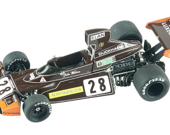 Brabham Ford Cosworth BT44 F.1 Austrian GP 1974 Watson TAMEO Kits TMK319 1:43