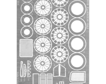 set of photoetched parts for 1:24 Ford GT40 1964 (and other cars) GTS Série Le Mans Miniatures X24039M10