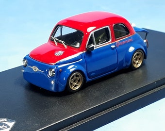Fiat Giannini 590SS racing trim red/blue REMEMBER Models 1:43 Factory built
