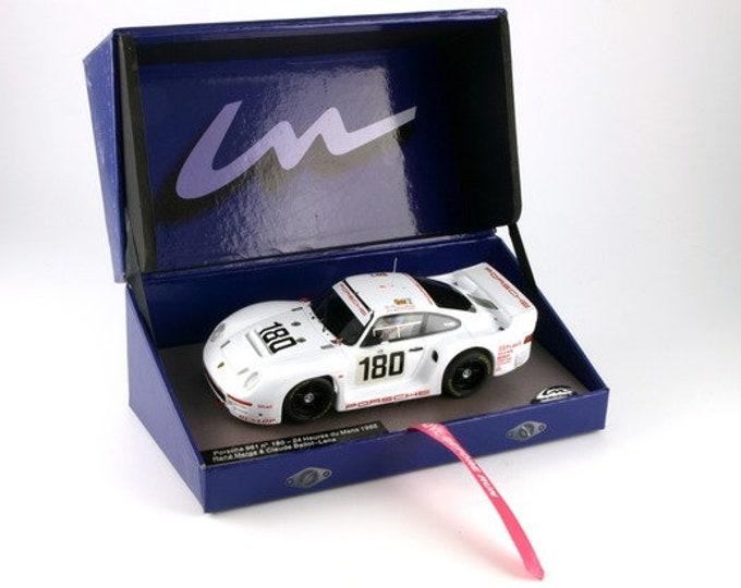 Porsche 961 IMSA-Gtx Le Mans 1986 #180 Metge/Ballot-Léna GTS Série Le Mans Miniatures slot car 1:32 132066M