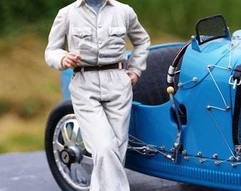 Bernd Rosemeyer 1:18 high quality figure Le Mans Miniatures FLM118013