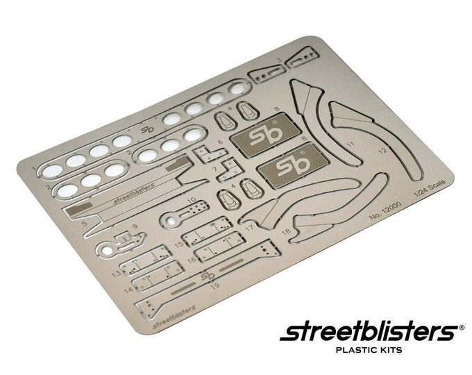 set of photoetched parts for Fujimi Honda Civic EK 1:24 Streetblisters 12000