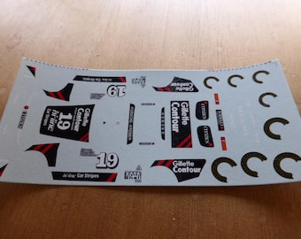 high quality 1:43 decals Porsche 935 K3 Gr.5 Gillette-Kremer Silverstone 1981