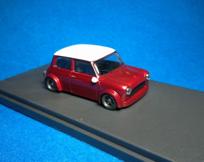 Mini Cooper Racing Group 2 light metallic red / white Tavarco by Remember 1:43 - Factory built