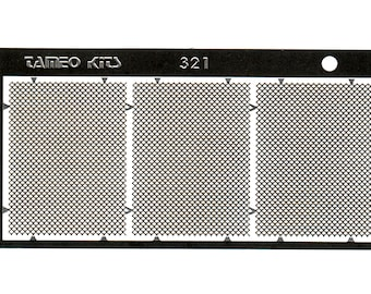 photo etched 1:43 radiators Type-B (3 pieces) Tameo FT43