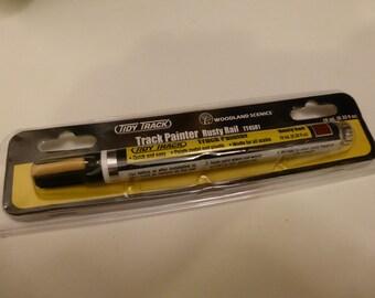 Track Painter (Rusty rail) TT4581 by Tidy Track Woodlands Scenics 10mL (0.33 fl oz) - paints metal and plastic