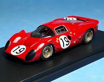 Ferrari 330 P4 chassis 0860 Le Mans 1967 #19 Klass/Sutcliffe Tokoloshe by Remember TOK25 1:43 factory built