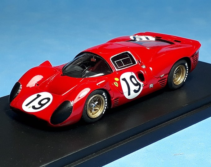 Ferrari 330 P4 chassis 0860 Le Mans 1967 #19 Klass/Sutcliffe Tokoloshe by Remember TOK25 1:43 factory built